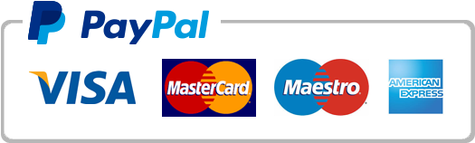 PayPal and cards logo