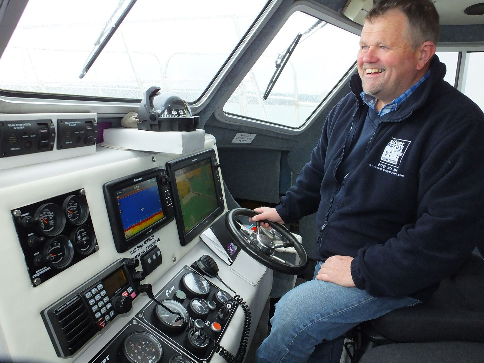Picture of skipper Andy